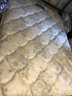 Full size mattress and box spring - barely used