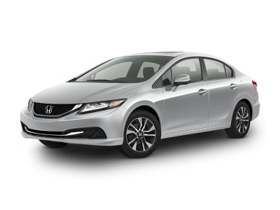 2015 Honda Civic EX (Taffeta White)