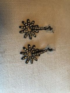 Sparkly Spur Earrings