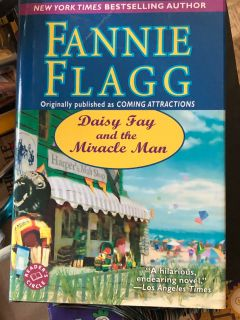 FANNIE FLAGG. DAISY FAY AND THE MIRACLE MAN. Hardback. Large print. Great condition