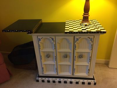 Moving Sale - Computer hutch, funky buffet, book cases, pictures, come and look!