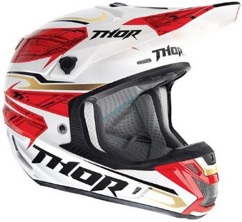 Sell Thor Verge Boxed Helmet Red X-Small NEW 2014 motorcycle in Elkhart, Indiana, US, for US $324.95
