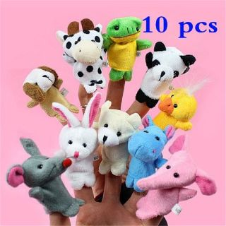 Buy Baby Plush Toy Finger Puppets