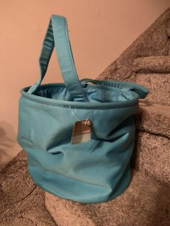 ROUND ORGANIZING BAG WITH TAGS