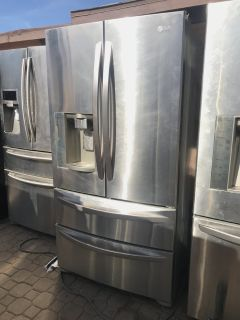 Lg French Door Refrigerator Stainless Steel