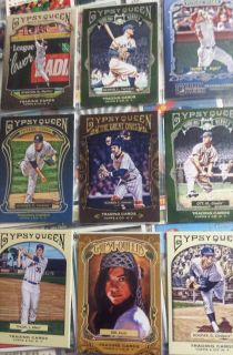 58 baseball cards - topps - GYPSY QUEEN - mint - 30 cents/card avg A-ROD, MUNSON ETC