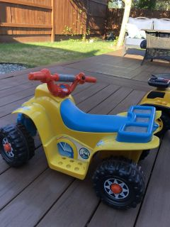 Riding toy without motor...