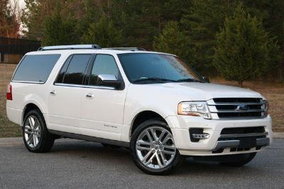 2017 Ford Expedition EL Platinum (White)