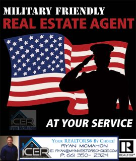 Military Friendly Real Estate Agent