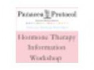 Horm Therapy Information Workshop