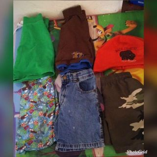 Boys Clothing lot size 4T 10 pieces total .