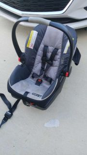 Graco infant seat and base