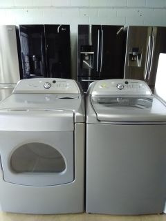 Whirlpool Cabrio Top Load Washer & Dryer