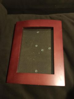 Red Wood Picture Frame 7 by 5