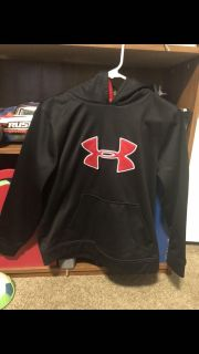 Two Under Armour hoodies