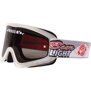 Sell Clear/Smoke Beer Optics Bullet Goggles motorcycle in San Bernardino, California, US, for US $19.99