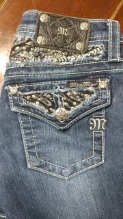 Girls size 12 miss me jeans