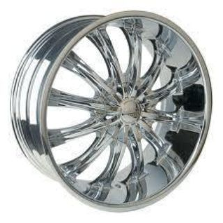 "Purchase 28""Chrome Wheels Bentchi B15 Cadillac Escalade 04-11 motorcycle in Victorville, California, US, for US $2,575.00"
