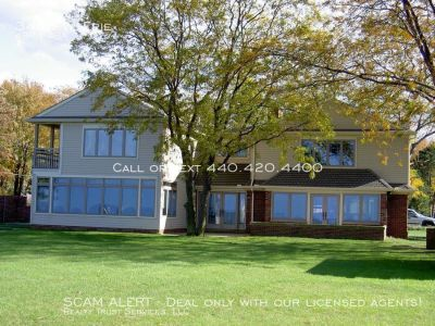 Fabulous 4 Bedroom Lakefront home for rent!