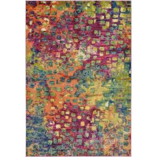 New! Bungalow Rose 6 2 x9 Massaoud Abstract Area Rug