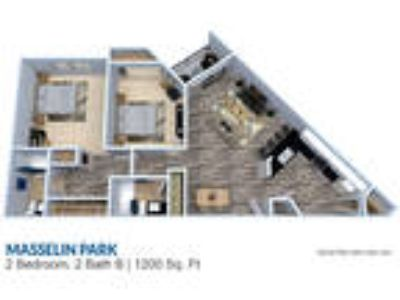 Masselin Park West - Two BR Two BA 1200 sq ft