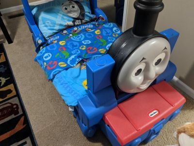 Thomas the Train Bed, Mattress and Bedding