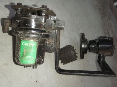 Buy Johnson Water pump, fuel pump carter mounting bracket. fit volvo, kaama, bbc. motorcycle in La Puente, California, United States, for US $160.00