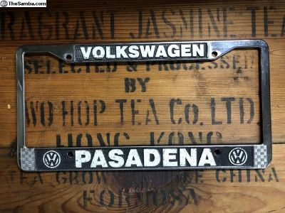 Pasadena Dealer Frame