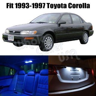 Sell 93-97 Toyota Corolla Light Package Blue / White Color Interior Led Package Kits motorcycle in Cupertino, CA, US, for US $15.99