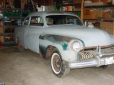 1951 Mercury 2Dr Project PRICE DROP !!!