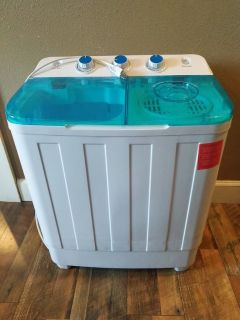 Twin Tub Mini Portable Washer Apt/Dorm/Tiny Home
