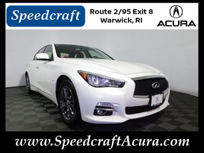 2015 Infiniti Q50 Base (Moonlight White)