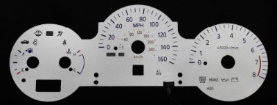 Find 160MPH Indiglo Glow Gauge Silver Reverse Luminescent Face For 2004 Nissan Maxima motorcycle in Monterey Park, California, United States, for US $24.99