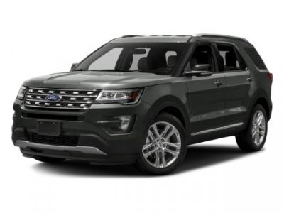 2016 Ford Explorer XLT (Black)