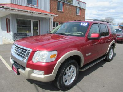 2008 Ford Explorer Eddie Bauer (Redfire Metallic)