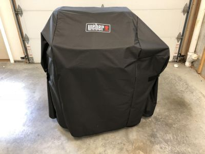 Weber spirit ii e-310 gas grill with cover