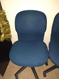 Blue desk chairs / office chair