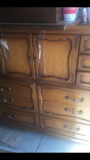 Dresser tall French looking