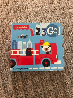 1-2-3 Go! Board Book