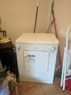 "Whirlpool ""electronic dry-miser"" Apartment Dryer"