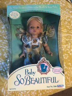 Collector Baby Beautiful Doll in box