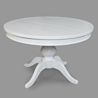 White round dining table (or to be painted)