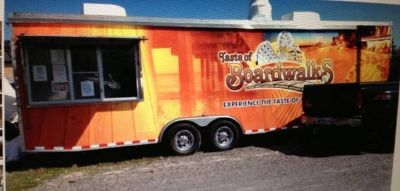 28 Catering Trailer available in March