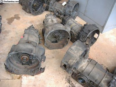 VW Bug auto stick autostick transmissions