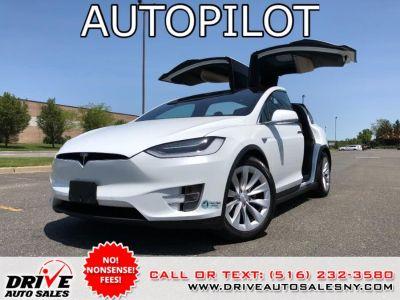 2016 Tesla Model X AWD 4dr 75D (Pearl White Multi-Coat)