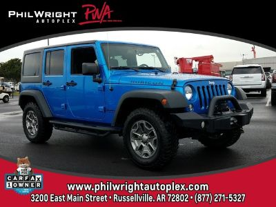 2016 Jeep Wrangler UNLIMITED RUBICON (Blue)
