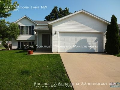 Spectacular home on corner lot with fenced backyard!
