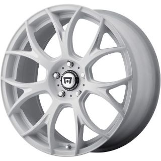 Sell 17 (17x8) Motegi MR126 5x114.3 +38mm Matte White Wheels Rims motorcycle in Saint Charles, Illinois, United States, for US $719.00