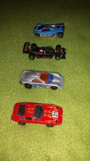 Four Hot Wheels cars from 1992, 1997, 1999, & 2001. All for $3.