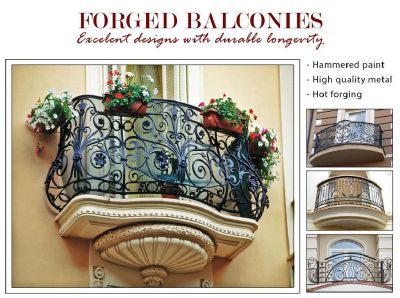 Forged balconies